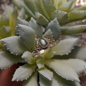 VTG Moonstone sterling silver ring 💍